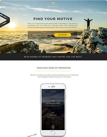 Top Examples Of Mobile Landing Pages To Drive Smartphone Conversions