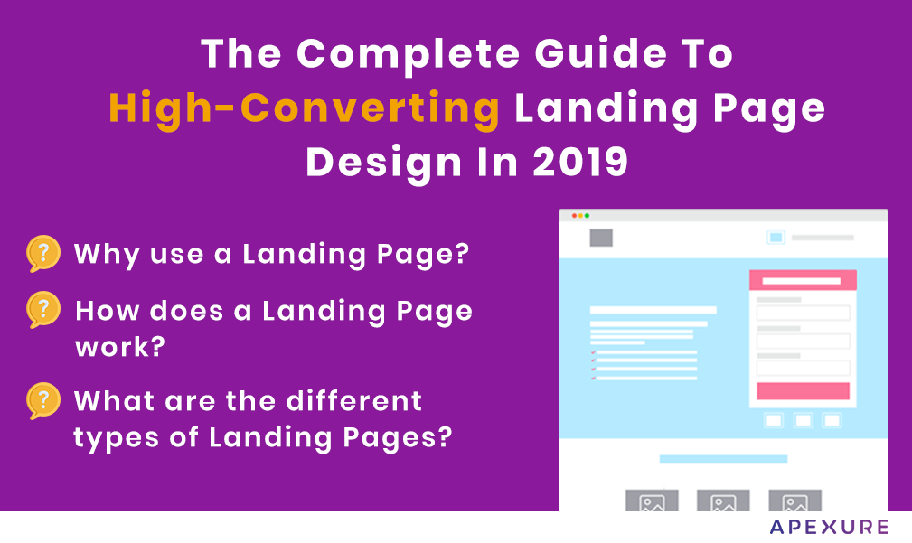 The complete guide to high-converting landing page design in 2019