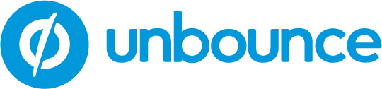 unbounce landing pages logo