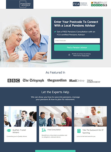 best-banking-landing-page