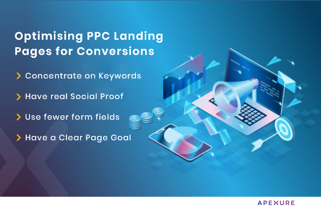 how to optimise ppc landing page for better conversion rates